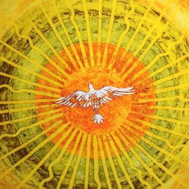 Šátek - přehoz K Slunci blíž  - 2