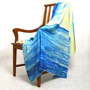 Šátek - přehoz Moře  - 2
