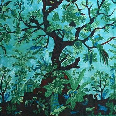 Šátek - přehoz double - Strom Života  - 2