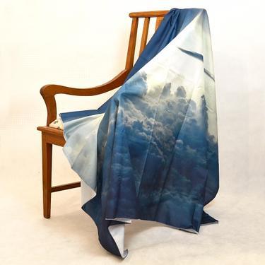 Šátek - přehoz V mracích  - 2
