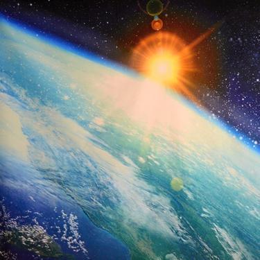 Šátek - přehoz Země ve Vesmíru  - 2