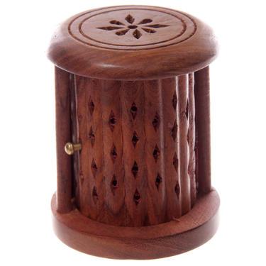 Stojánek na vonné kužely - Dřevěná klec  - 2