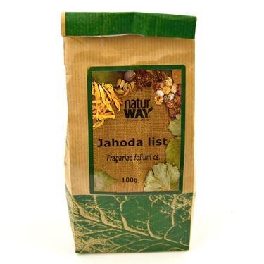 Sušené byliny sáček - Jahoda list 100 g  - 2