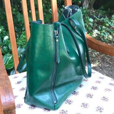 Kabelka IINII Glamour - Arica smaragd  - 2