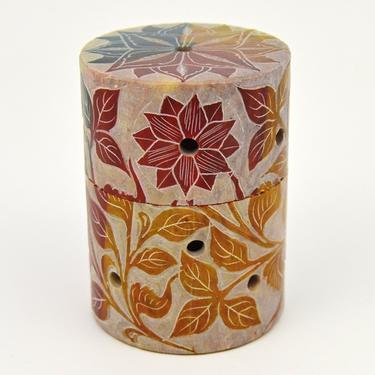 Kadidelnice mastek s kovovou mřížkou - Floral  - 2