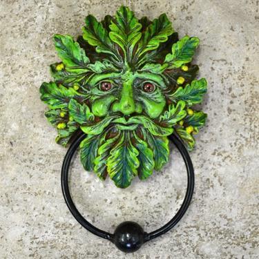 Fantasy klepadlo - Zelený muž  - 2