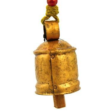 Kovový zvonek se závěsem 9 x 6 cm  - 2