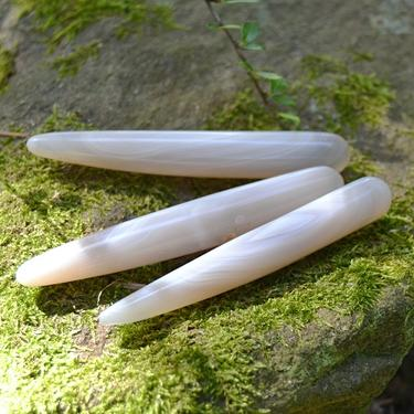 Masážní hůlka Achát šedý  - 2