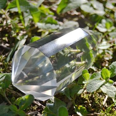 Broušená krystalová hůlka - Křišťál extra 66 g  - 2