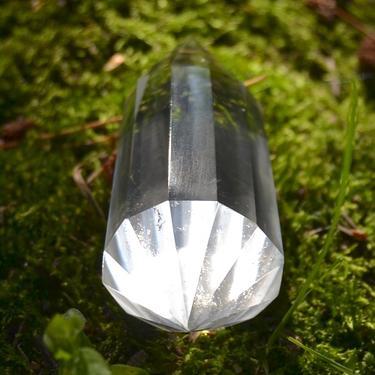 Broušená krystalová hůlka - Křišťál extra 54 g  - 2