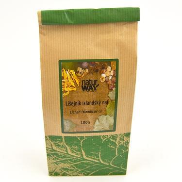 Sušené byliny sáček - Lišejník islandský 100 g  - 2