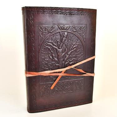 Magický deník velký - Strom Života, pravá kůže  - 2