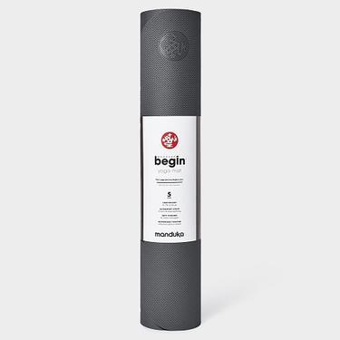 Manduka podložka na jógu BEGIN 5 mm - Steel Grey  - 2