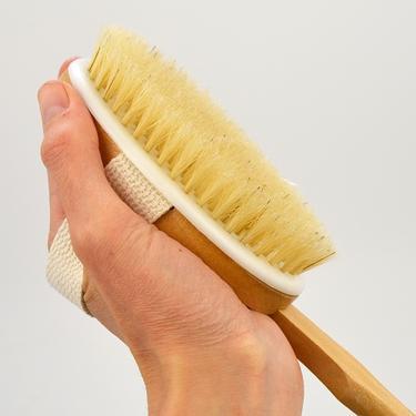 Masážní pomůcka - kartáč na záda  - 2