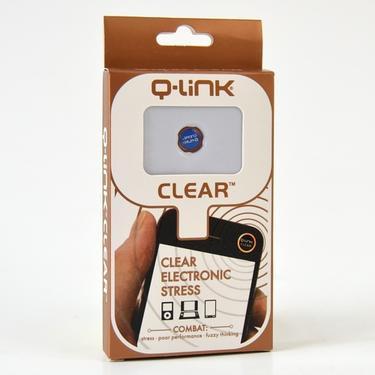 Nálepka Q-Link biorezonátor CLEAR, modrá aura  - 2