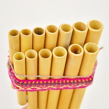 Panova flétna Peru dvouřadá  - 2