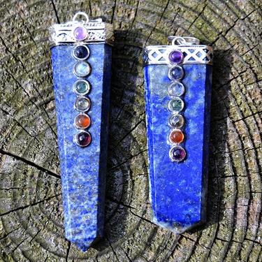 Přívěsek Lapis Lazuli čakrový  - 2