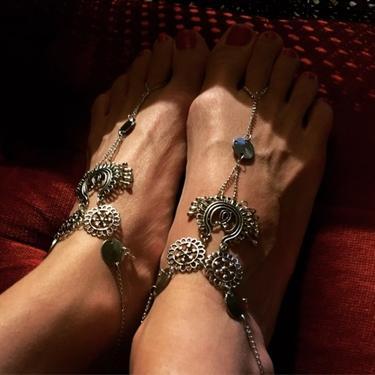 Ozdoba na nohu IINII - Jasmine  - 2