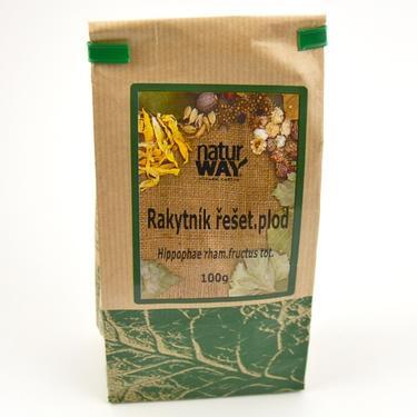 Sušené byliny sáček - Rakytník řeš. plod 100 g  - 2