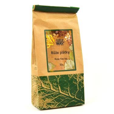 Sušené byliny sáček - Růže květ plátky 100 g  - 2