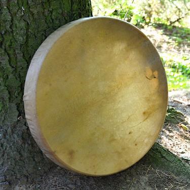 Šamanský buben z jelenice 52 cm  - 2