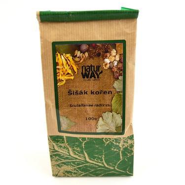 Sušené byliny sáček - Šišák bajk. kořen 100 g  - 2