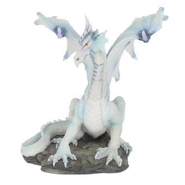 Socha fantasy exclusive - Velký sněžný drak  - 2