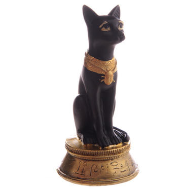 Soška Egypt - Bastet kočka  - 2