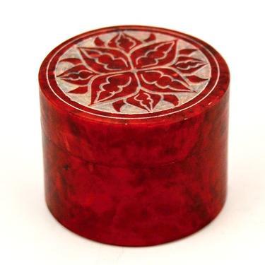 Šperkovnice Mastek Květina, červená  - 2