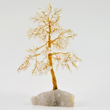 Stromeček štěstí - křišťál, 160 kamínků  - 2