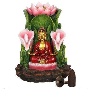 Buddha v Lotosu - stojánek na vonné kužely  - 2