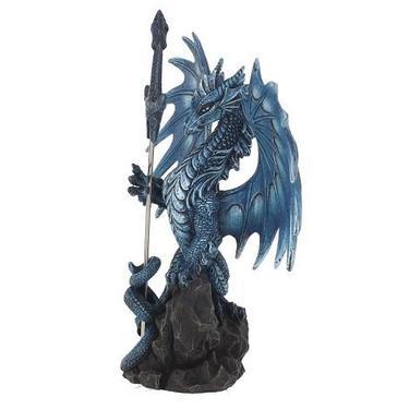 Socha fantasy exclusive - Velký mořský drak  - 2