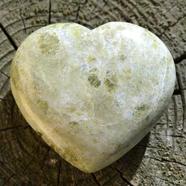 Vessonite - broušené srdce 50 - 60 mm  - 2