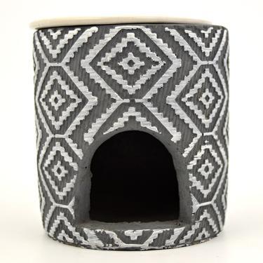 Aromalampa Kosočtverce, keramika  - 3