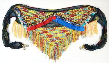 Šátek na břišní tanec Meri  - 3
