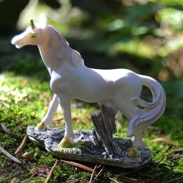 Fantasy figurka - Bílý jednorožec  - 3
