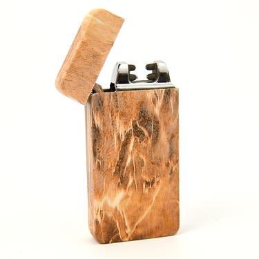 Elektrický zapalovač MATRIX USB - design dřevo  - 3