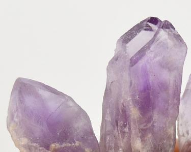 Elestial ametyst - krystaly L mix  - 3