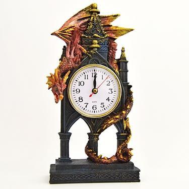 Hodiny fantasy - Drak - Strážce času  - 3