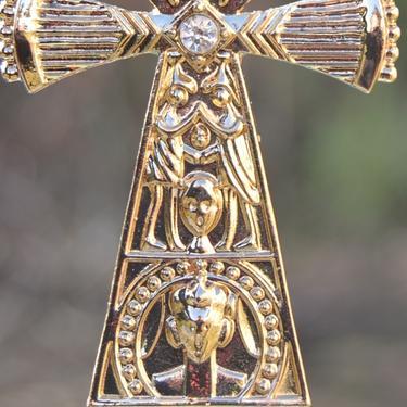 Faraonský náhrdelník - Zlatý Anch Zrození  - 3