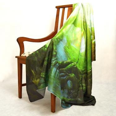 Šátek - přehoz Čaroděj Země  - 3