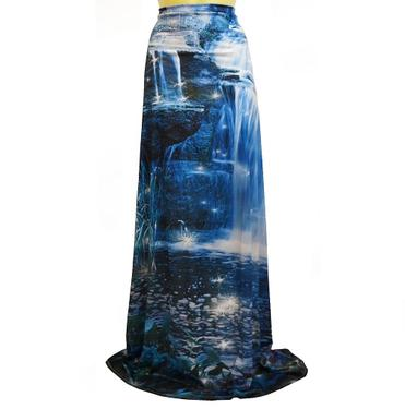 Šátek - přehoz Kouzelné vodopády  - 3
