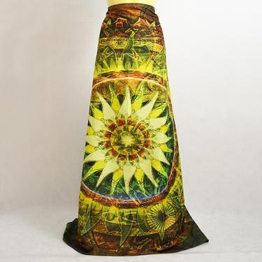 Šátek - přehoz Květina džungle  - 3