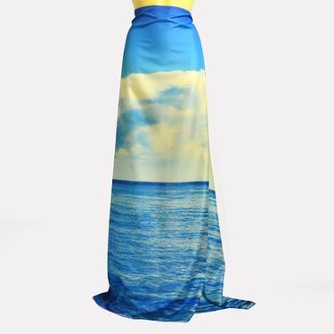 Šátek - přehoz Moře  - 3
