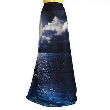 Šátek - přehoz Měsíc na moři  - 3