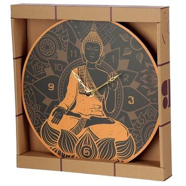 Nástěnné hodiny Zlatý Buddha  - 3
