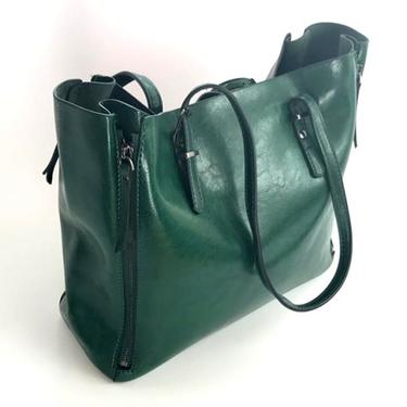 Kabelka IINII Glamour - Arica smaragd  - 3