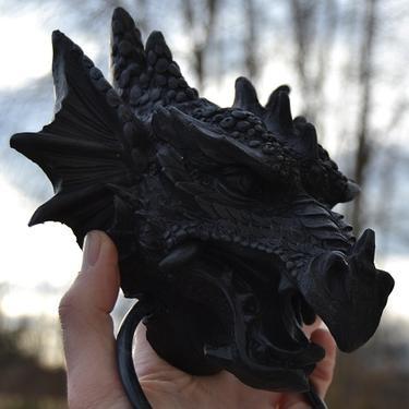 Fantasy klepadlo - Černý drak  - 3
