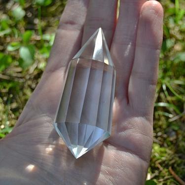 Broušená krystalová hůlka - Křišťál extra 66 g  - 3