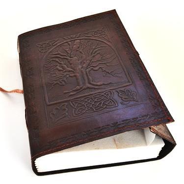 Magický deník velký - Strom Života, pravá kůže  - 3